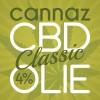 CBD Olie Cannaz Classic 4% Full Spectrum 10ml.