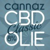 CBD Olie Cannaz Classic 8% Full Spectrum 10ml.